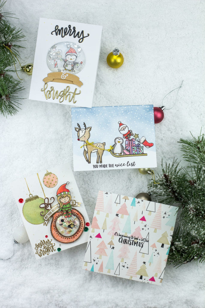 Christmas Cards with Neat & Tangled-by Taheerah Atchia