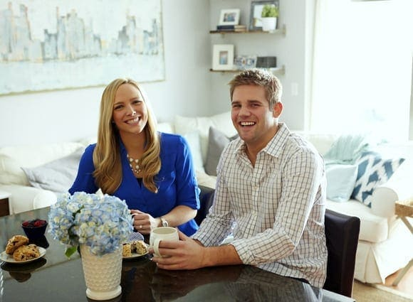 Check out this downtown apartment tour for some great design ideas.