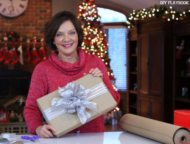 Doesn't this DIY bow look amazing? Now that we've taught you how to make the perfect bow you can wrap away!