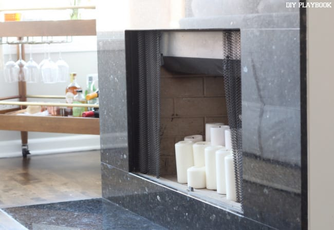 Terrific How To Spray Paint Fireplace Interior The Diy Playbook Home Interior And Landscaping Ologienasavecom
