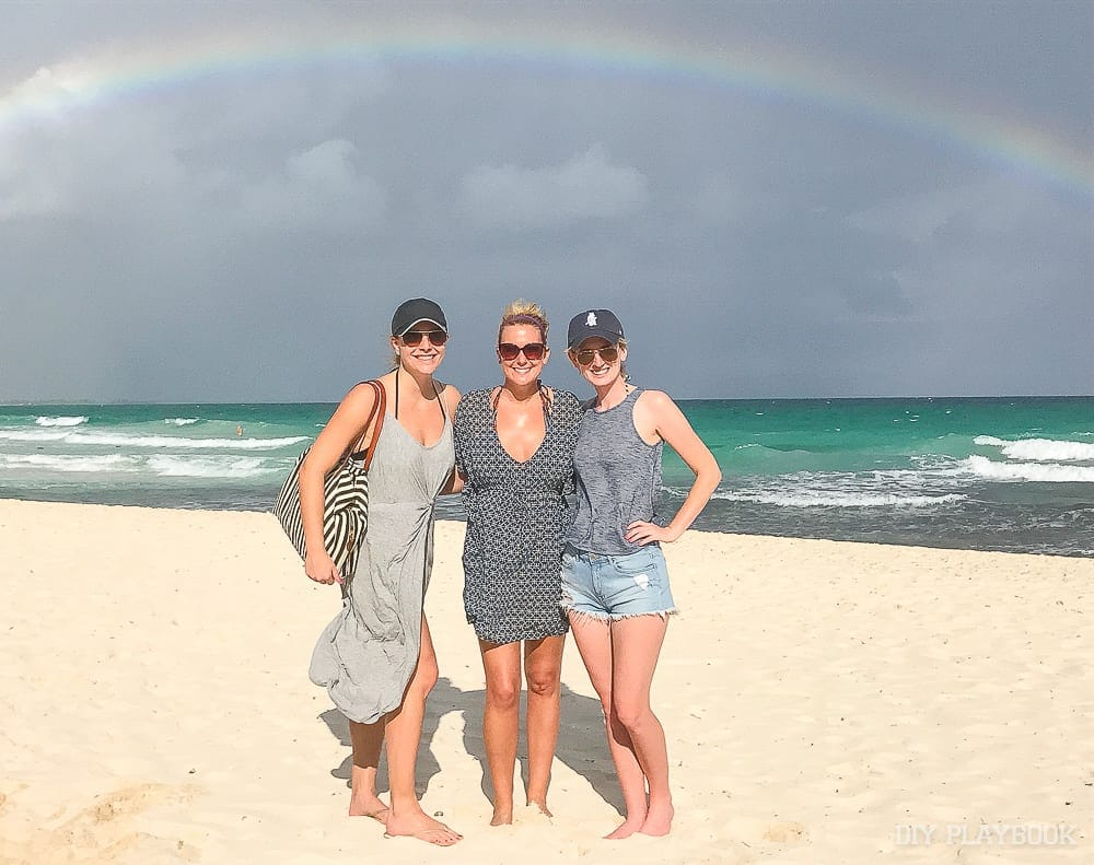 mexico-lauren-casey-bridget-beach-ocean-rainbow