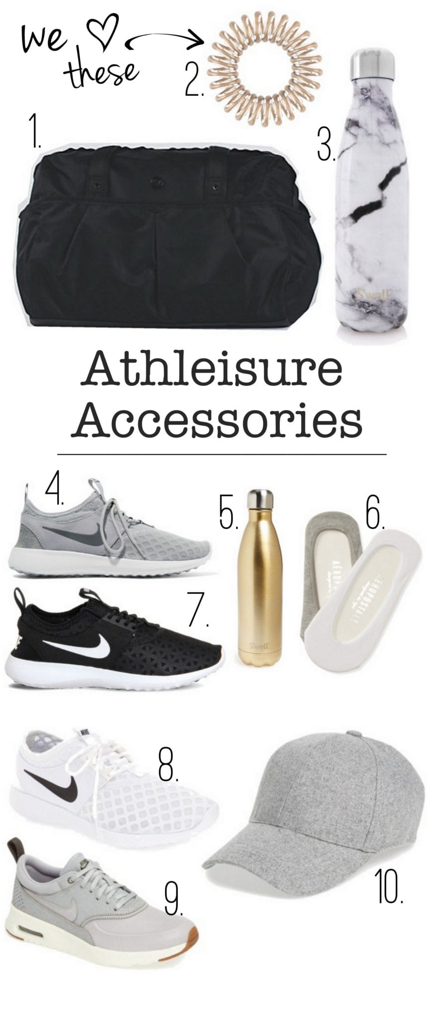 Accessories list: Workout Accessories & Fitness Goals for 2017 | DIY Playbook