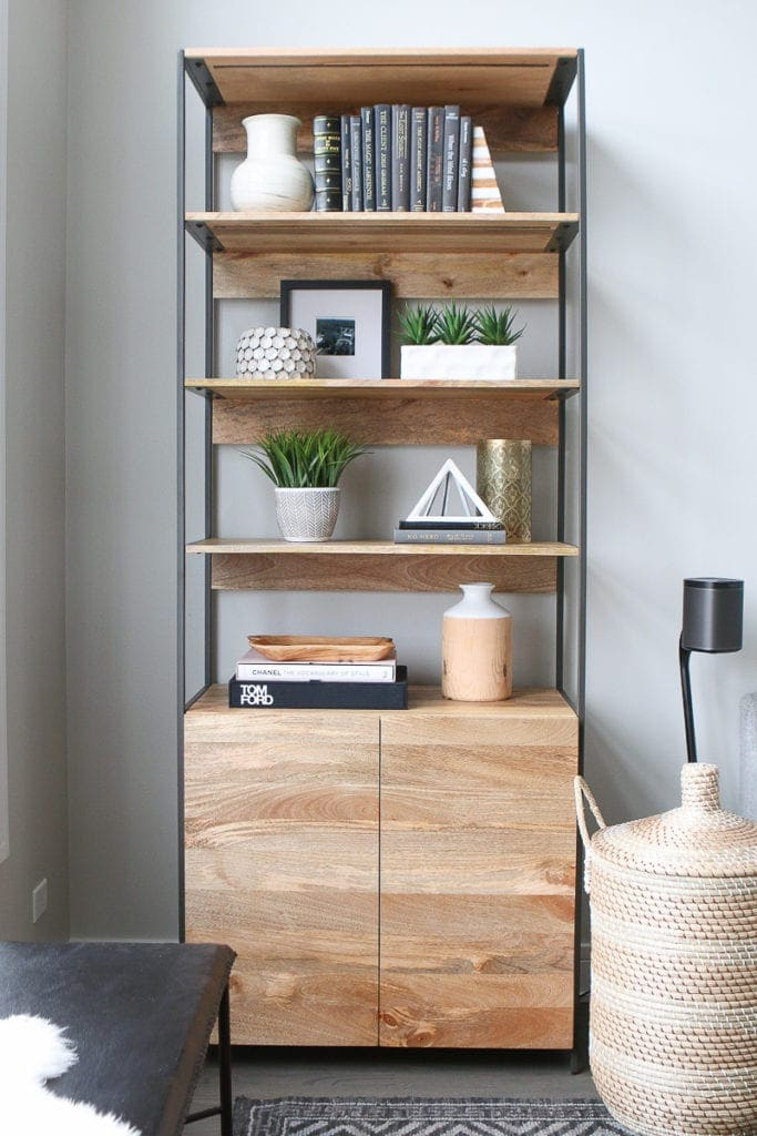 How to style bookshelves in your home