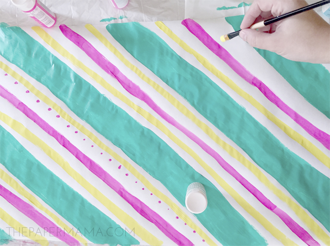 Piece of Candy Gift Wrap DIY