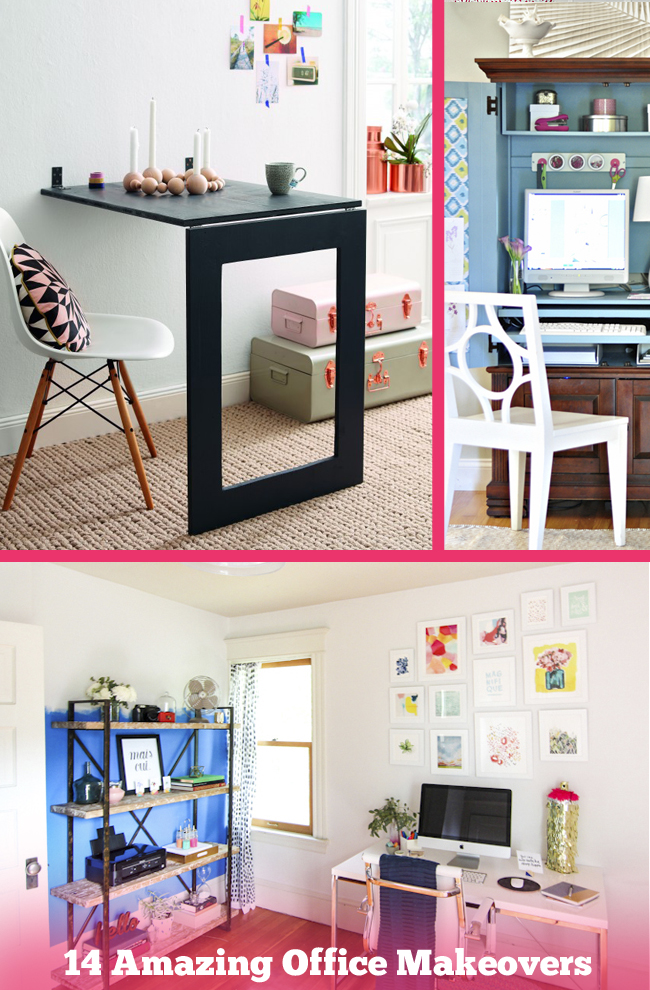 14 Amazing Office Makeovers