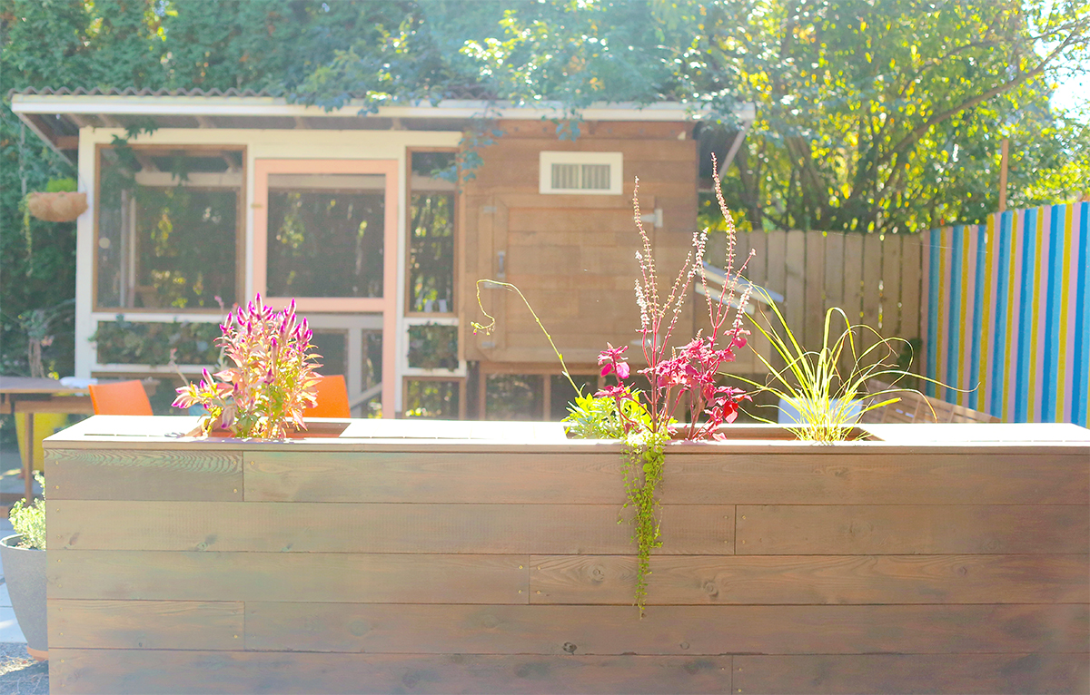 How to Incorporate Hidden Storage into the Backyard