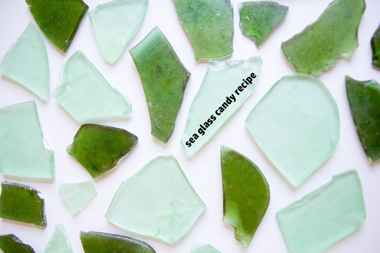 Sea Glass Candy Recipe and Gift (with free printable gift tags) - the paper mama blog