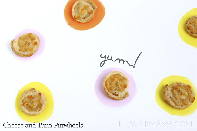 Cheese and Tuna Pinwheels