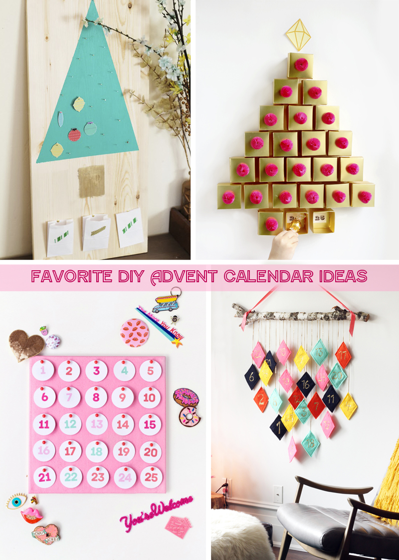Day 37 Christmas Decor: 15 Favorite DIY Advent Calendar Ideas!