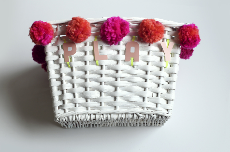 Bicycle Basket Makeover