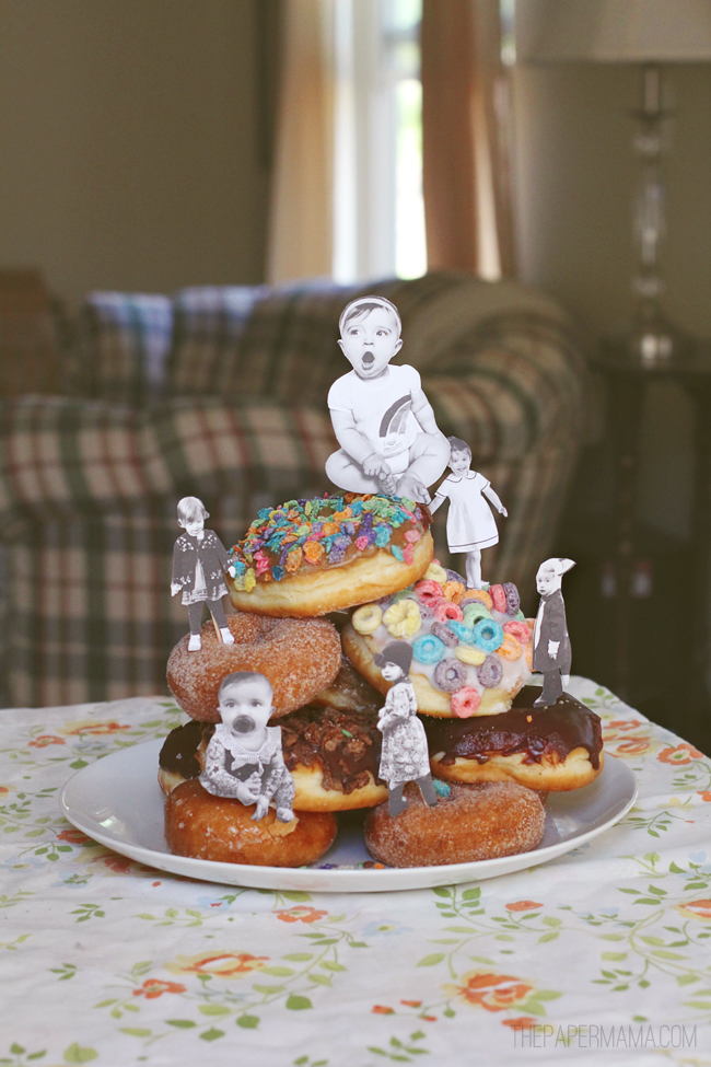 Mother's Day Doughnuts // thepapermama.com