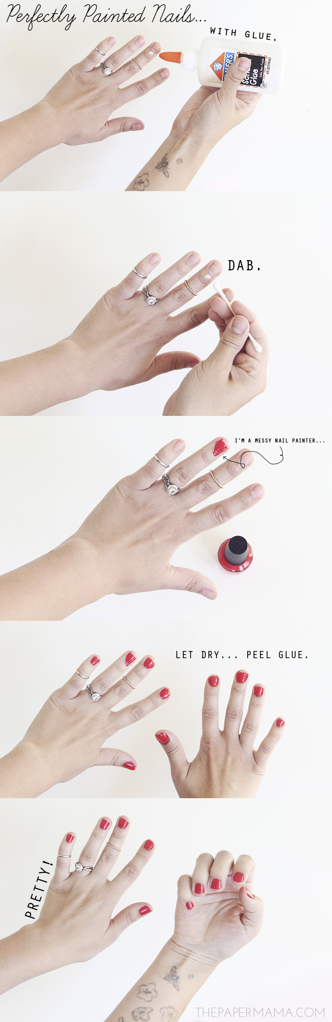 tried it: perfectly painted nails // thepapermama.com