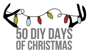 50 Diy Days of Christmas // thepapermama.com