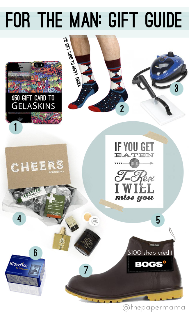 Holiday Gift Guide GIVEAWAY // thepapermama.com