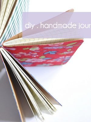 diy roundup . handmade journals thumbnail