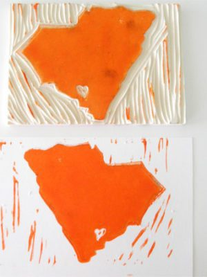 State Linocut Block Printing . How To-sday thumbnail