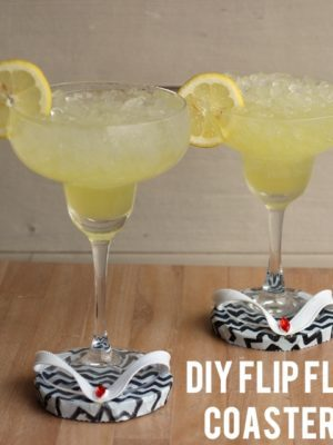 DIY Flip Flop Coasters  – How To-sday thumbnail