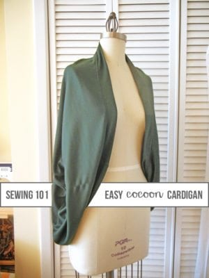 Cozy Cocoon Cardigan . Sewing 101 thumbnail