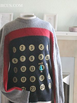 Advent Calendar Christmas Sweater thumbnail