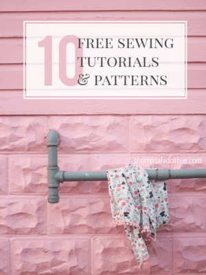 10 Free Beginner Sewing Tutorials thumbnail