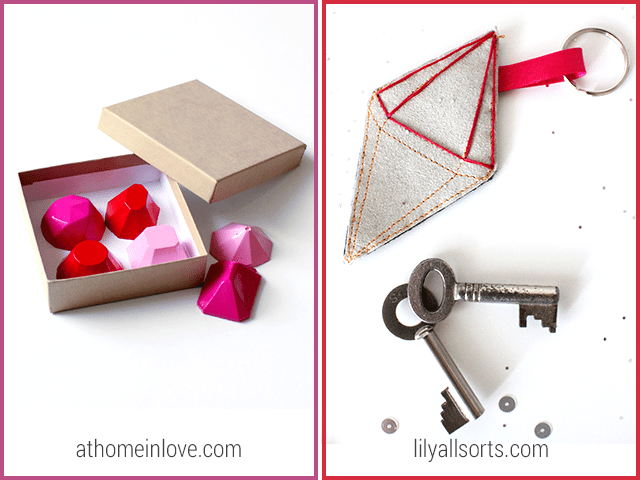 14 Gemstone DIYs - At Home in Love and Lily All Sorts