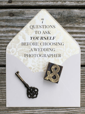 Questions to Ask YOURSELF Before Booking a Wedding Photographer thumbnail