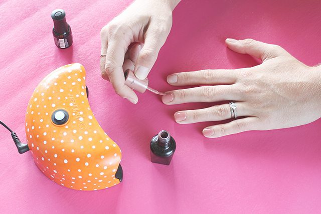 DIY Gel Nail Polish Tutorial Step 5