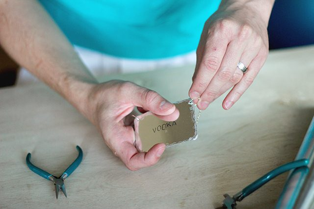 DIY Stamped Metal Bar Tags - Step 8