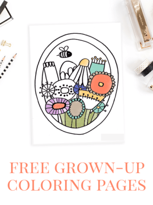 Launching Today – Free Coloring Pages! thumbnail