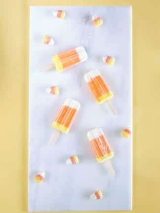 Candy Corn Greek Yogurt Popsicles – Good Eats thumbnail
