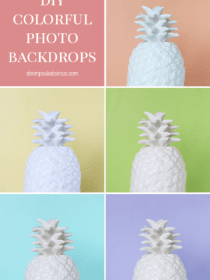 Quick and Easy Colorful Photo Backdrops thumbnail