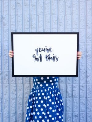 You've Got This – Free Hand Lettered Printable Art thumbnail