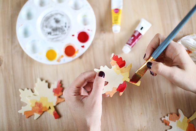 DIY Thanksgiving Place Cards - Step 4