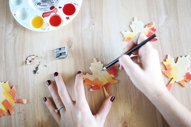 DIY Thanksgiving Place Cards - Step 6