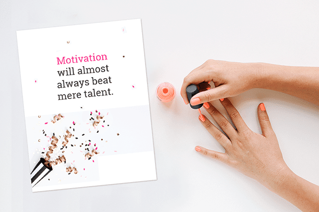 Motivation Poster Free Download - Preview