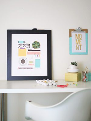 Free DIY Dry Erase Planner with Printable thumbnail