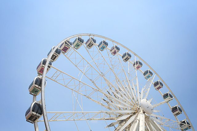 Cape Town Travel Guide - What to See - The V&A Watefront Ferris Wheel