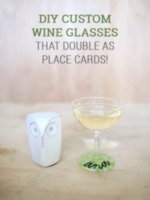 DIY Custom Wine Glasses – How To-sday thumbnail