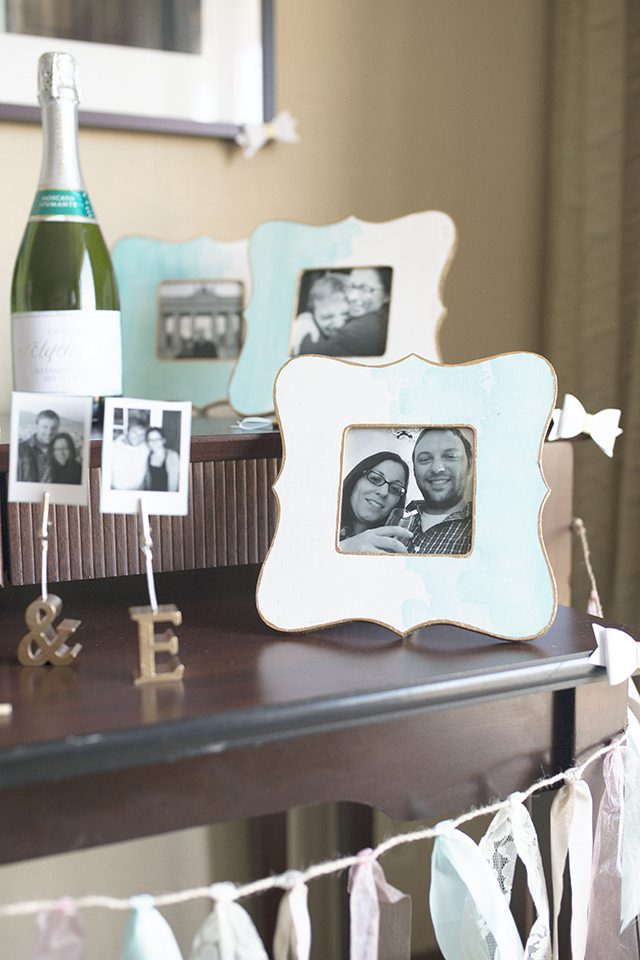 DIY Watercolor Painted Wooden Picture Frame Tutorial