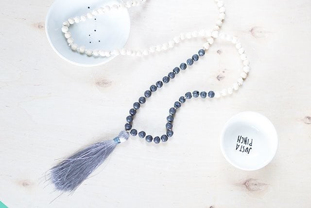 How-to-Tie-a-Mala-Wooden-Bead-Necklace---Wrap-the-Tassel-in-Embroidery-Floss