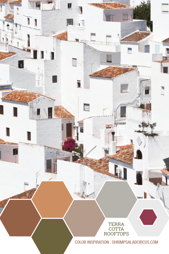 Color Inspiration - Terra Cotta Rooftops