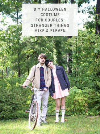 DIY Stranger Things Halloween Costume for Couples – Mike and Eleven thumbnail