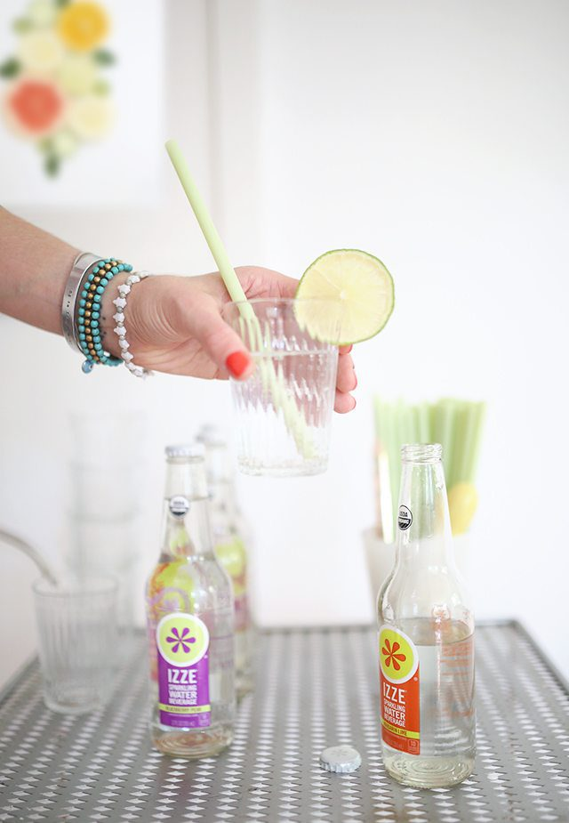 IZZE Sparkling Water With Lime