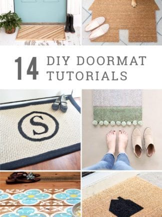 DIY Doormat Ideas thumbnail