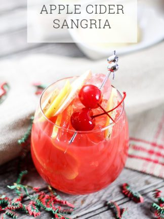 Apple Cider Sangria Recipe – Cocktail or Mocktail thumbnail