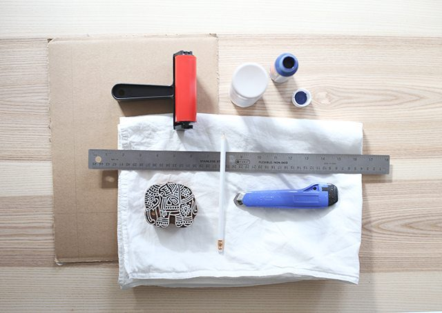 how-to-block-print-on-fabric-supplies