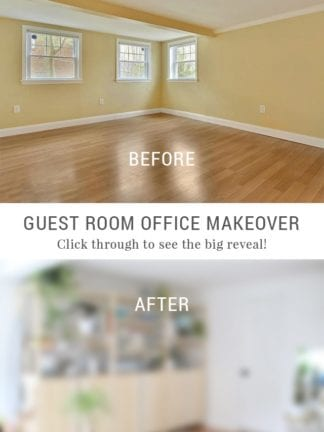 The Big Reveal – My Creative Escape Guest Room Office Makeover thumbnail
