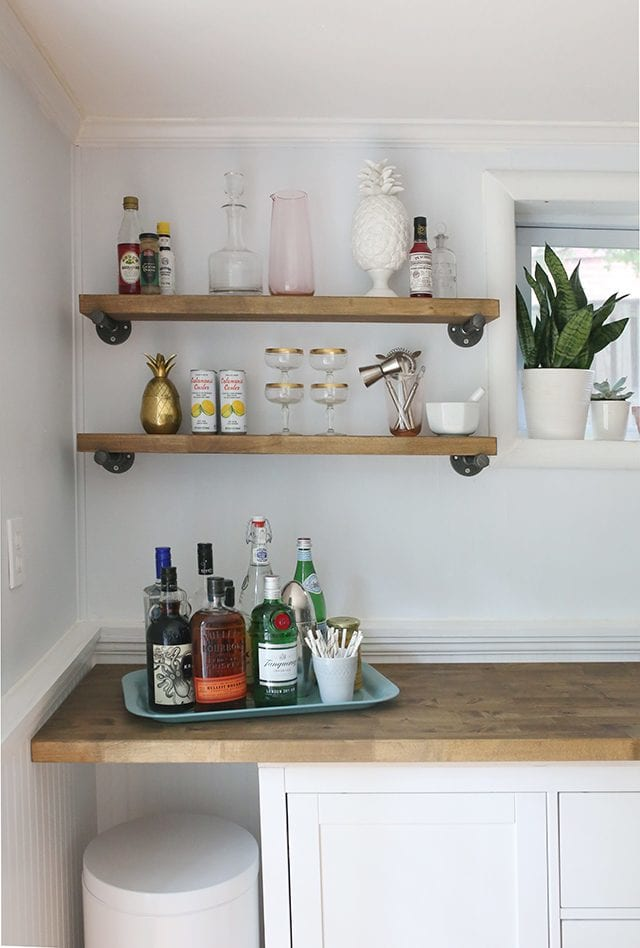 IKEA Hacks - DIY Bar Cabinet 4