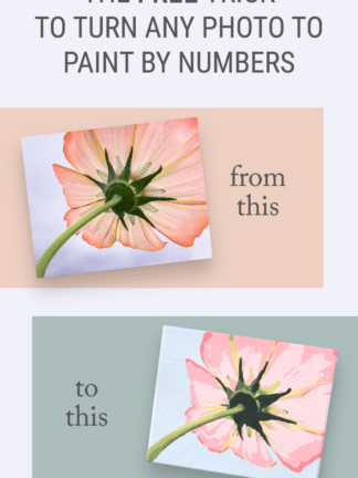 The Free Trick for How to Turn a Photo into Paint by Numbers thumbnail
