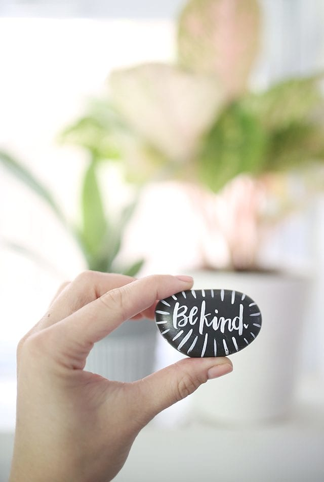 The Kindness Rocks Project - How to Paint Rocks - 4